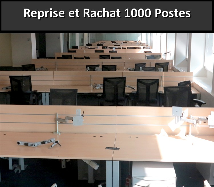simon reprise rach te 1000 bureaux recyclage mobilier de bureau par france. Black Bedroom Furniture Sets. Home Design Ideas
