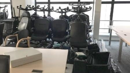 recyclage et dons de meubles de bureau