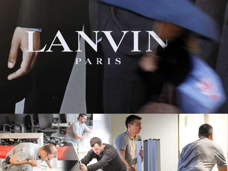 Rachat de meubles atypiques pour LANVIN