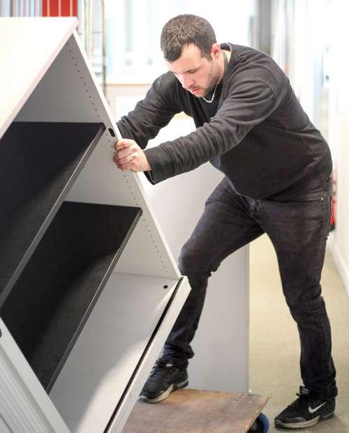 recyclage de mobilier professionnel