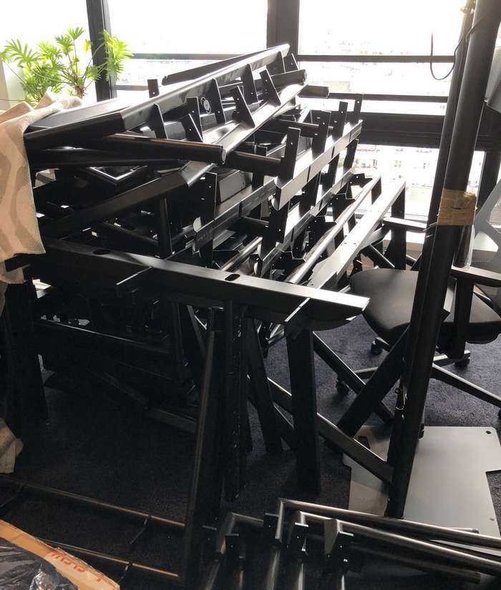 recyclage du métal dans les bureaux