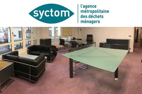 Vidage d'immeuble et recyclage SYCTOM